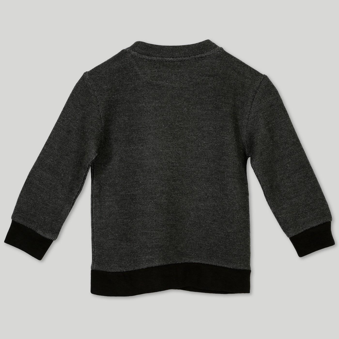 Target Afton Street Toddler Boys' French Terry Sweatshirt – Black $14.99