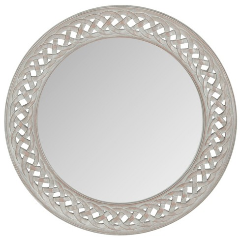 Round Braided Chain Decorative Wall Mirror - Safavieh® - image 1 of 3