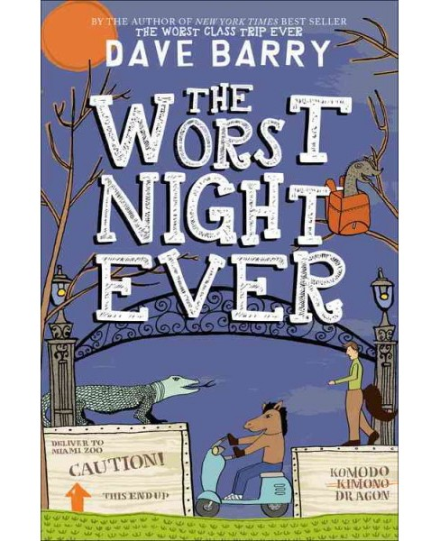 Worst Night Ever (Hardcover) (Dave Barry) - image 1 of 1