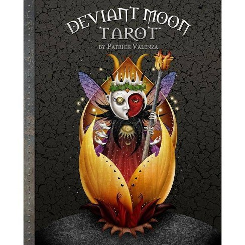 Deviant Moon Tarot Book - by  Patrick Valenza (Hardcover) - image 1 of 1