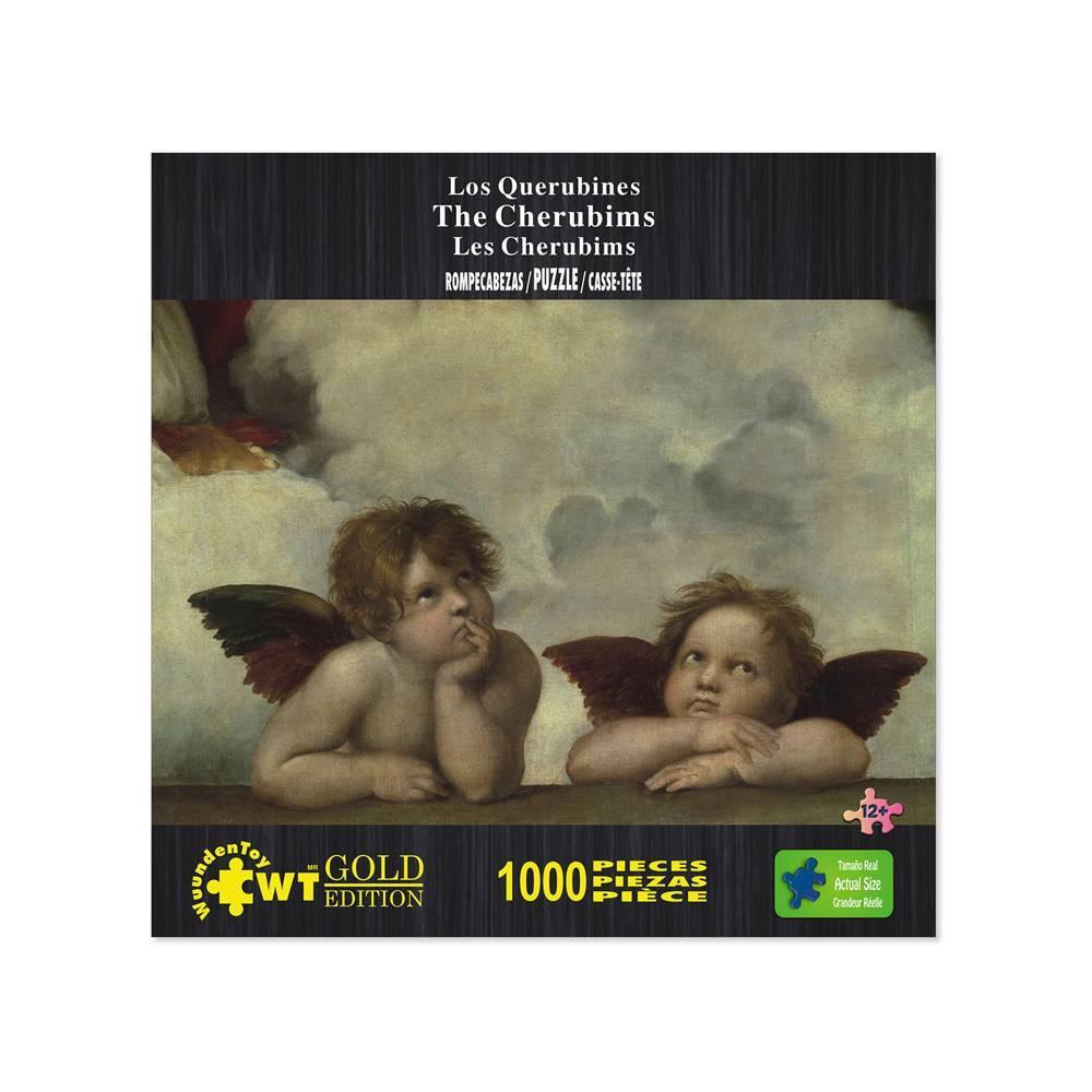 Wuundentoy Gold Edition The Cherubims Jigsaw Puzzle 1000pc