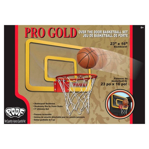 b3751bcc325 Poof Slinky Pro Gold™ Large Basketball Hoop - 23