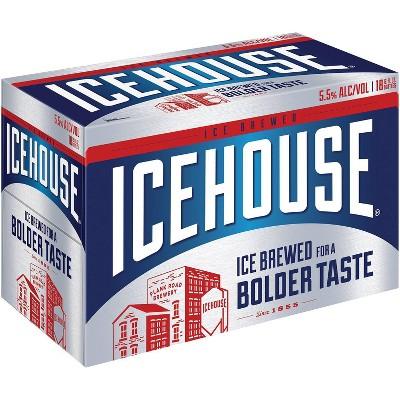Icehouse Ice Lager Beer - 18pk/12 fl oz Bottles