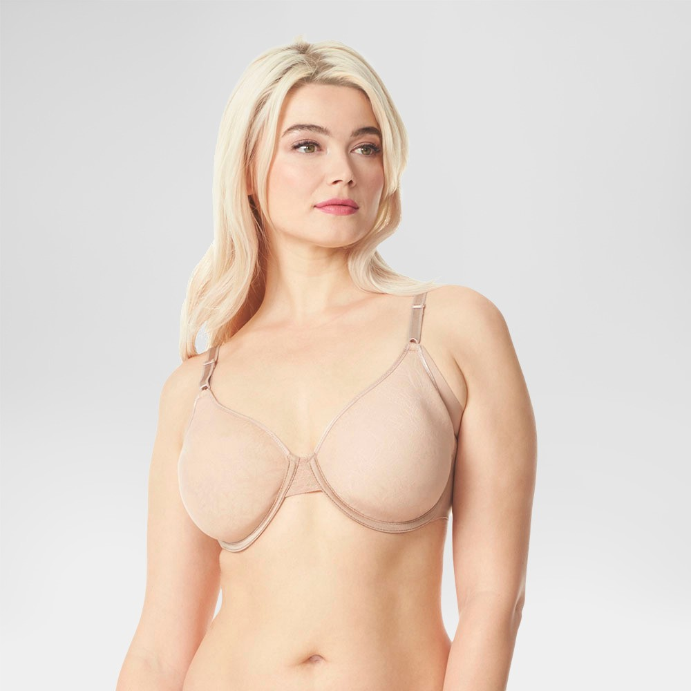 Simply Perfect by Warner's Women's Full Figure Underarm Smoothing Spacer Toasted Almond 40D
