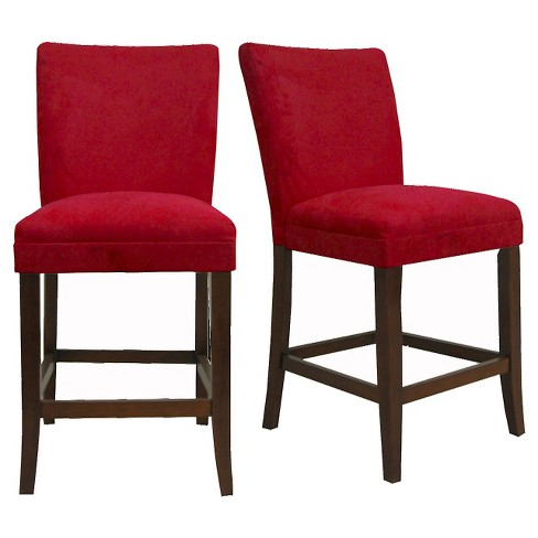 Napa 24 Counter Stools Red Set Of 2 Inspire Q Target