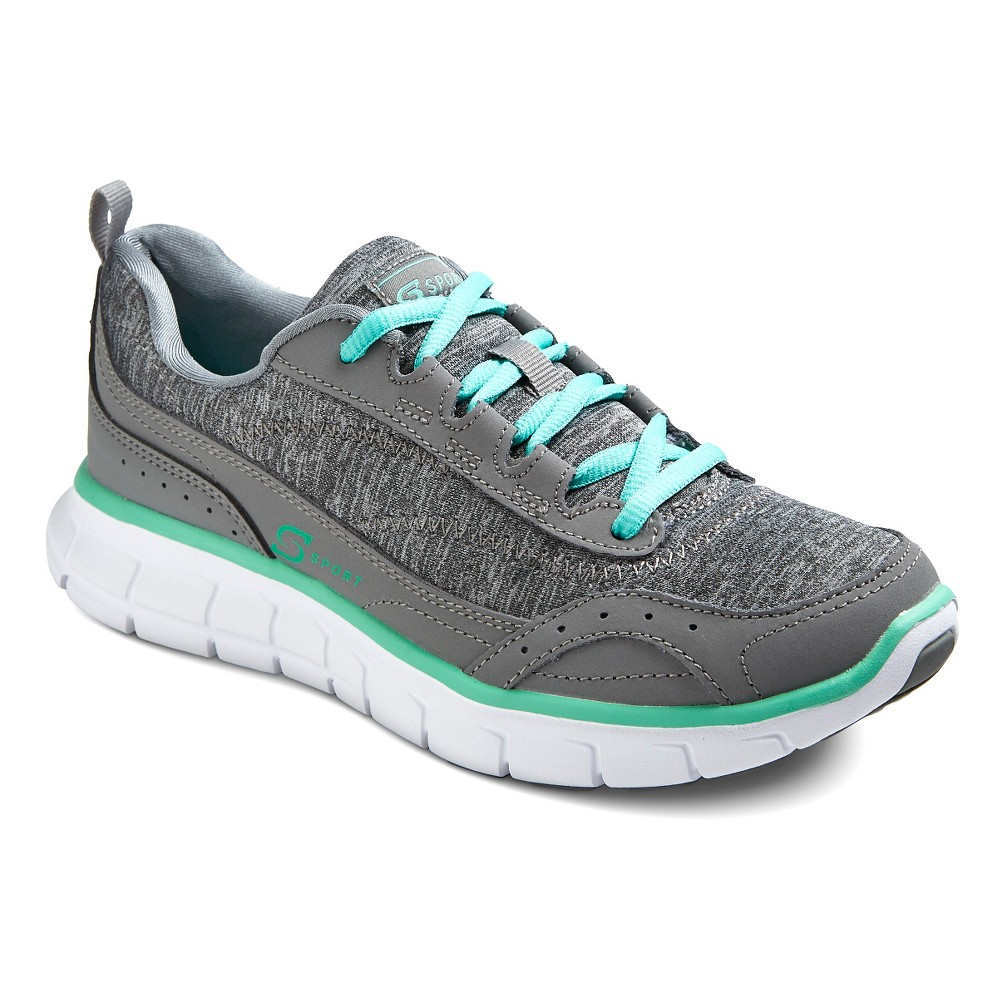 Women's S Sport Designed by Skechers Jersey Sneakers - Gray 9