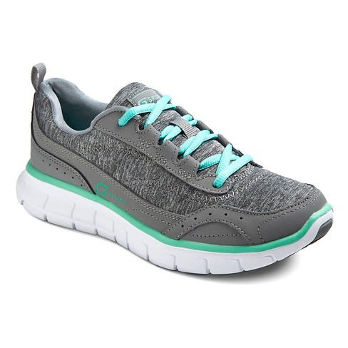 Women's S Sport Designed by Skechers™ - Loop Jersey Sneakers - Performance Athletic Shoes - Gray - image 1 of 4