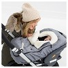 Skip Hop STROLL & GO Car Seat Cover - Heather Gray - image 4 of 4