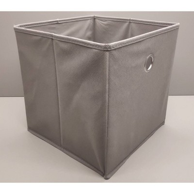 Fabric Cube Storage Bin Gray 11  - Room Essentials™