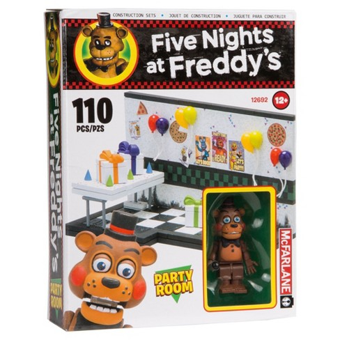 Five Nights at Freddy's® Small Builds Party Room with Toy Freddy