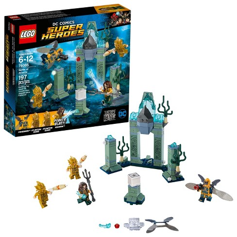 Lego Dc Comics Justice League Super Heroes Battle Of Atlantis