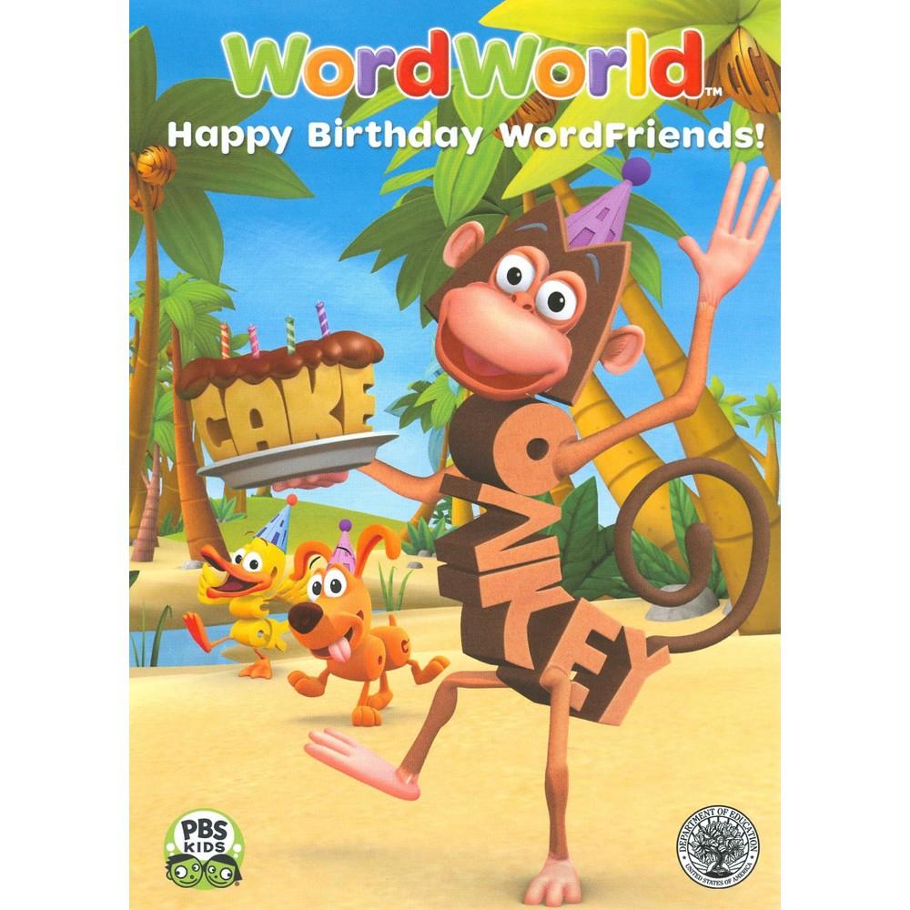 WordWorld: Happy Birthday, WordFriends!