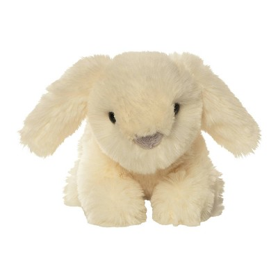 The Manhattan Toy Company Crouching Bunny Stuffed Animal - Luxe White
