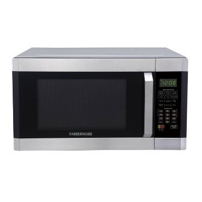 Faberware 1.6 cu ft Microwave Oven with Smart Sensor - Silver