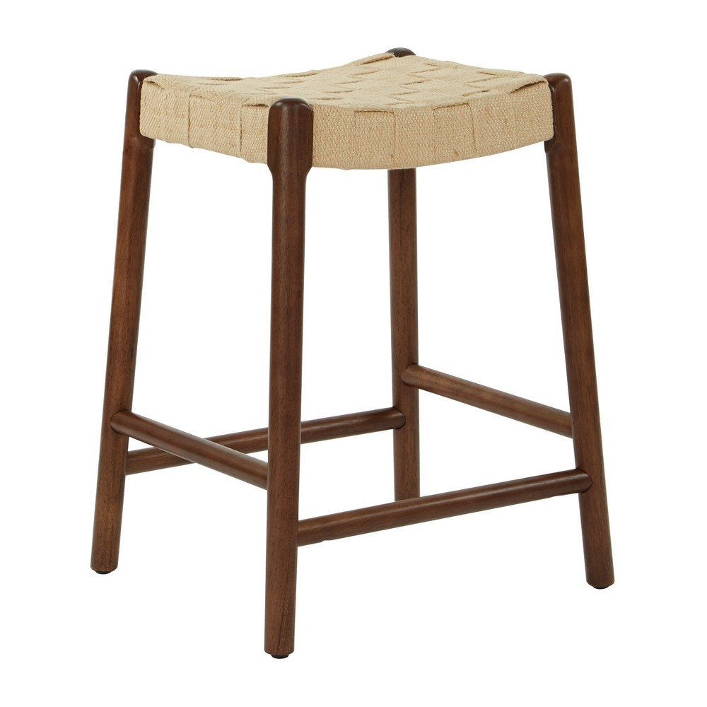 Kai 24 Stool Counter And Bar Walnut Brown - Inspired by Bassett