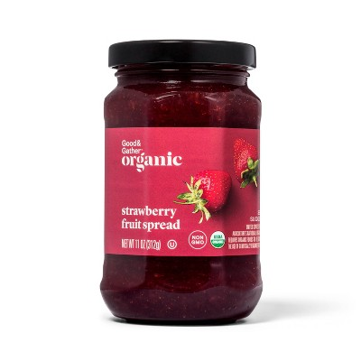 Organic Strawberry Fruit Spread - 11oz - Good & Gather™