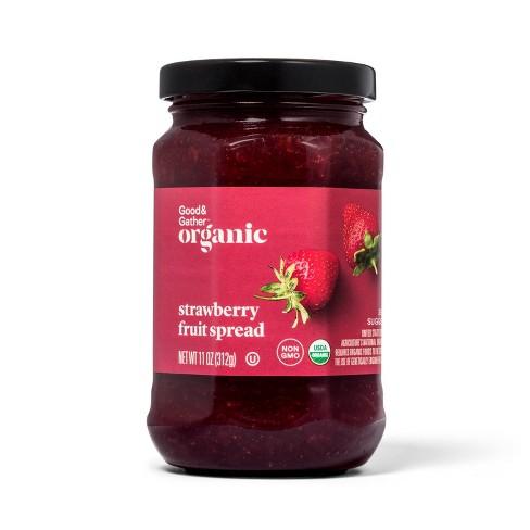 Organic Strawberry Fruit Spread - 11oz - Good & Gather™ - image 1 of 2