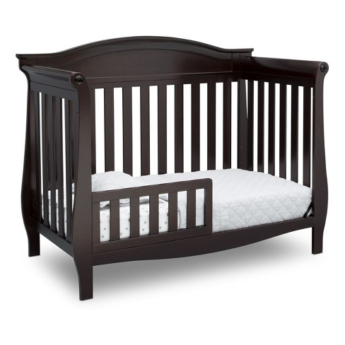 Delta Children Lancaster 4 In 1 Convertible Crib Dark Chocolate