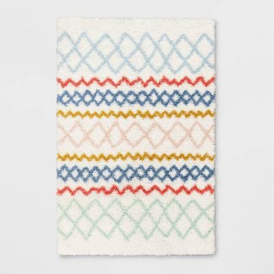 Geometric Shag Area Rug - Pillowfort™