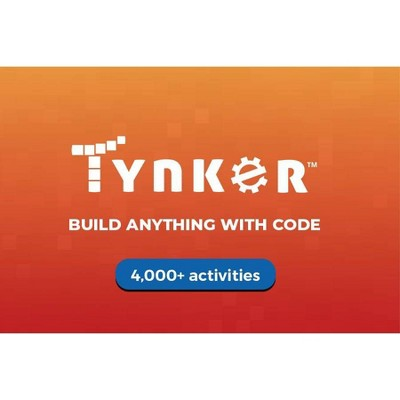 Tynker 6 Month Selfpaced Gift Card $79 (Email Delivery)
