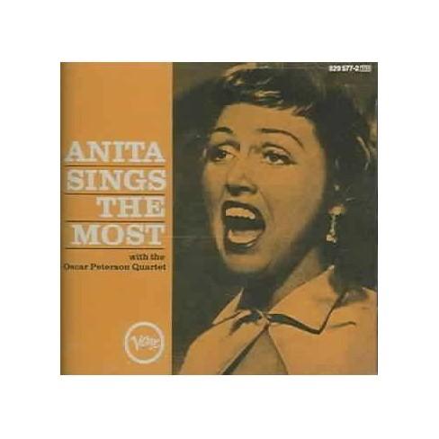 Anita O'Day - Anita Sings the Most (CD) - image 1 of 1