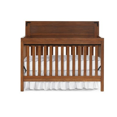 Fisher-Price Paxton 4in1 Convertible Crib - Rustic Brown