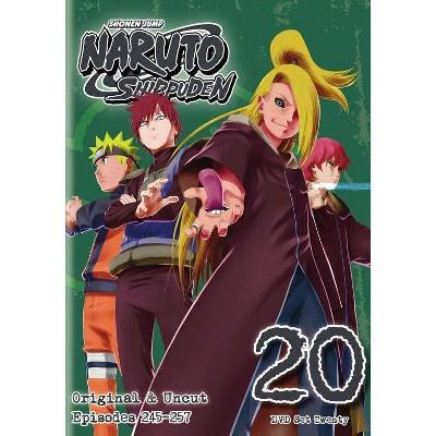 Naruto Shippuden: Box Set 20 (DVD)(2014)