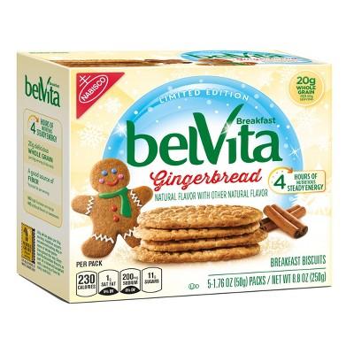 Belvita Gingerbread Breakfast Biscuits 8 8oz Target Inventory