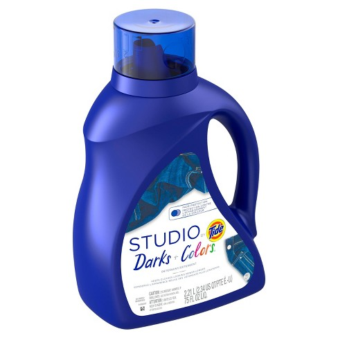 Tide Studio Darks & Colors Laundry Detergents - 75oz - image 1 of 3
