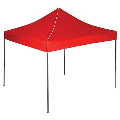 Stalwart Pop-Up Instant Canopy Tent - Red (10' x 10')