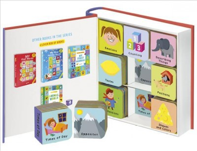 Clever Baby : 9 Mini Board Book Box Set - (Clever Mini Board Books)(Hardcover)