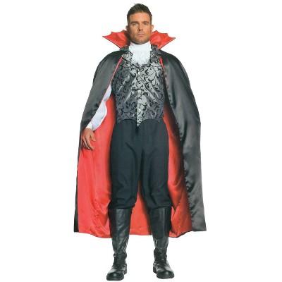 "Adult Vampire Cape Halloween Costume 55"" One Size"