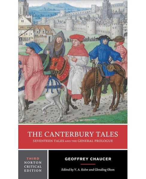 Canterbury Tales : Seventeen Tales and the General Prologue -  by Geoffrey Chaucer (Paperback) - image 1 of 1