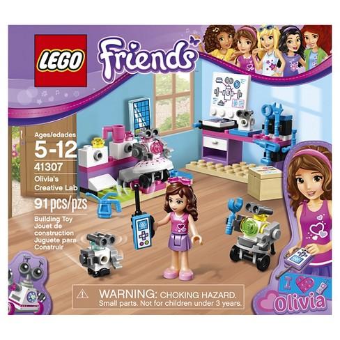 Lego Friends Olivias Creative Lab 41307 Target