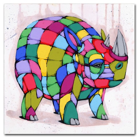 Born Colorful' by Ric Stultz Ready to Hang Canvas Wall Art - image 1 of 3
