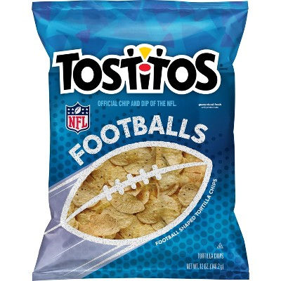 Tortilla & Corn Chips: Tostitos Footballs