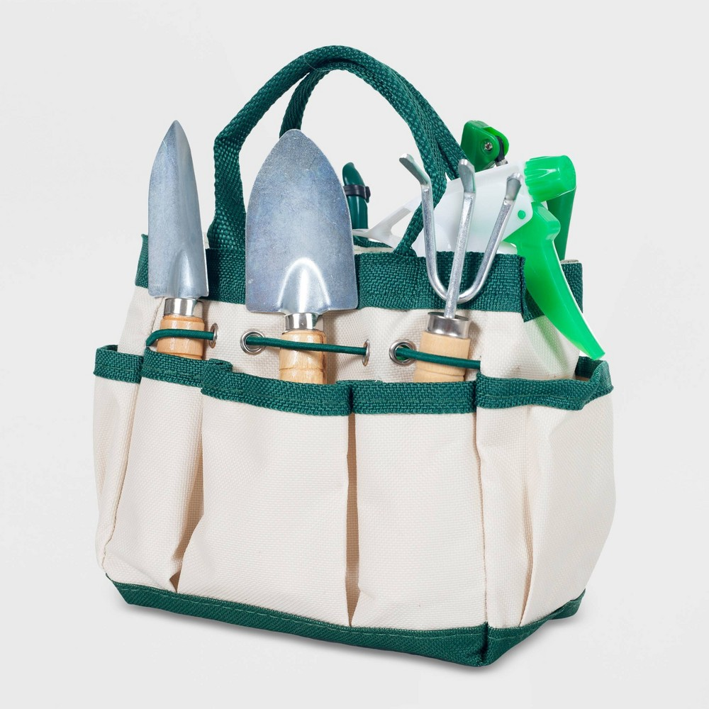 "Image of ""6pc 7"""" Steel Indoor Garden Tool Set - Pure Garden"""
