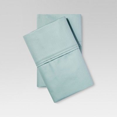Performance 400 Thread Count Pillowcase Mint Ash (Standard/Full)- Threshold™