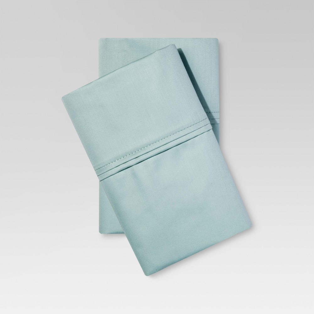 Performance 400 Thread Count Pillowcase Mint Ash (Standard/Full) - Threshold