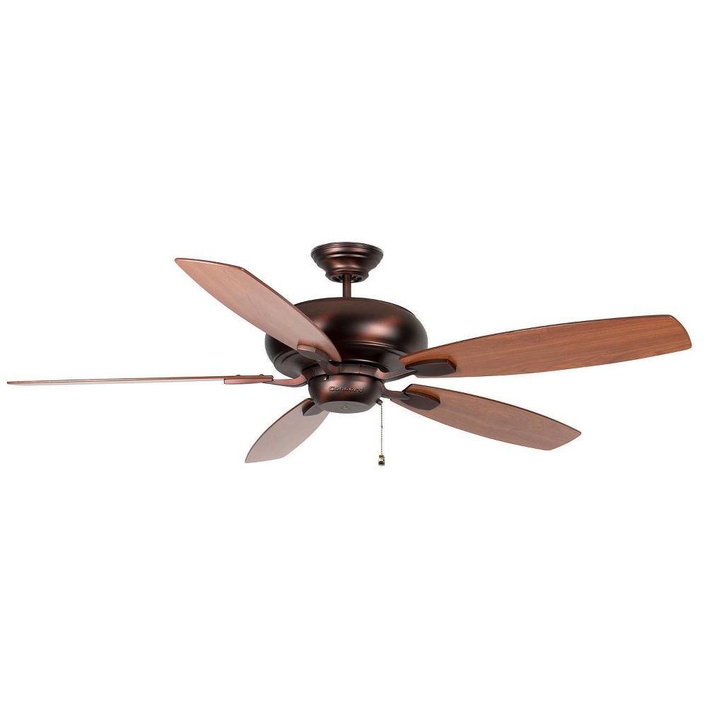 70 Roosevelt Ceiling Fan Bronze - Concord Fans