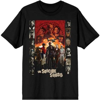 The Suicide Squad Movie  Black Graphic Tee