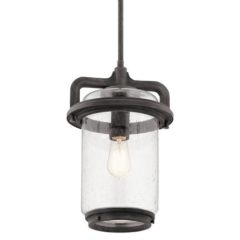"""Kichler 49868 Andover Single Light 10"""" Wide Outdoor Pendant - image 1 of 2"""
