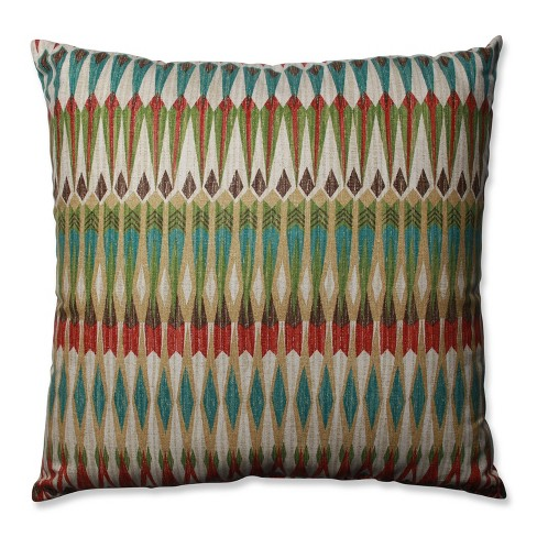 Acela Adobe Throw Pillow - Pillow Perfect - image 1 of 1