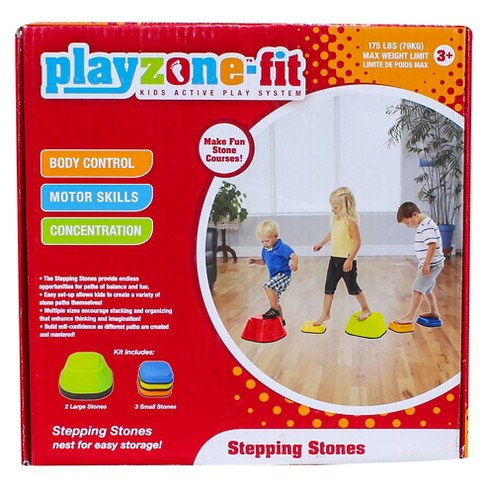 Playzone-Fit Stepping Stones Balance Board - image 1 of 3
