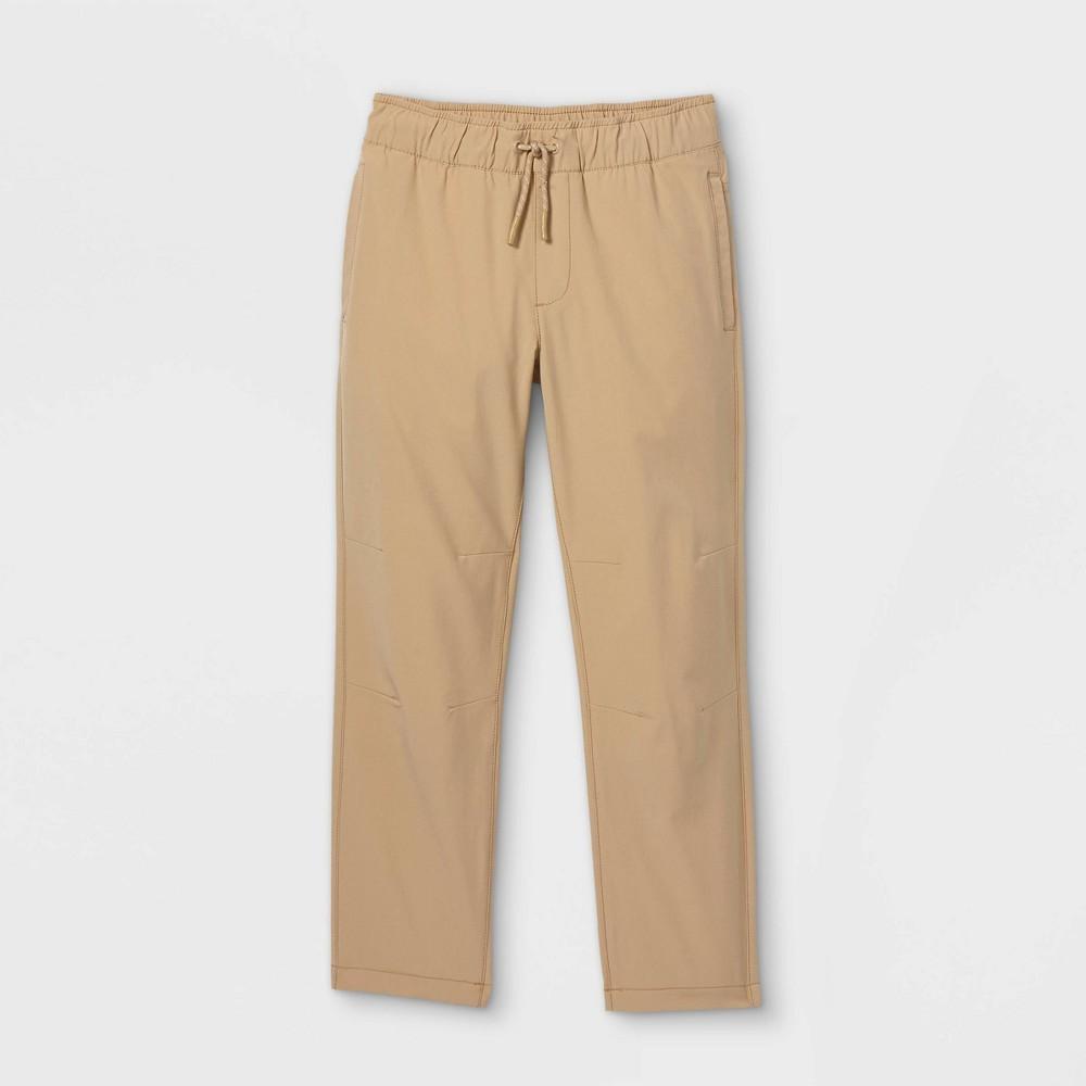 Boys 39 Stretch Pull On Quick Dry Straight Fit Jogger Pants Cat 38 Jack 8482 Khaki 5 Slim