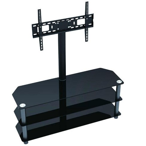 Monoprice High Quality TV Stand with Fixed TV Wall Mount Bracket For TVs Up to 55in, Max Weight 88 lbs , VESA Patterns U - image 1 of 2