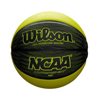 "Wilson Hypershot 28.5"" Basketball - Black/Lime"