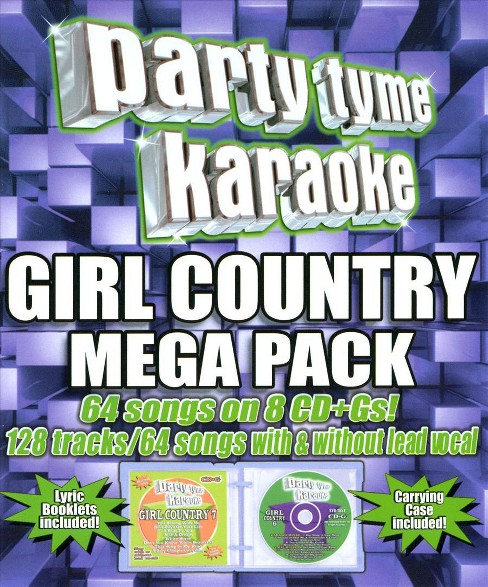 Party tyme karaoke - Girl country mega pack (CD) - image 1 of 1