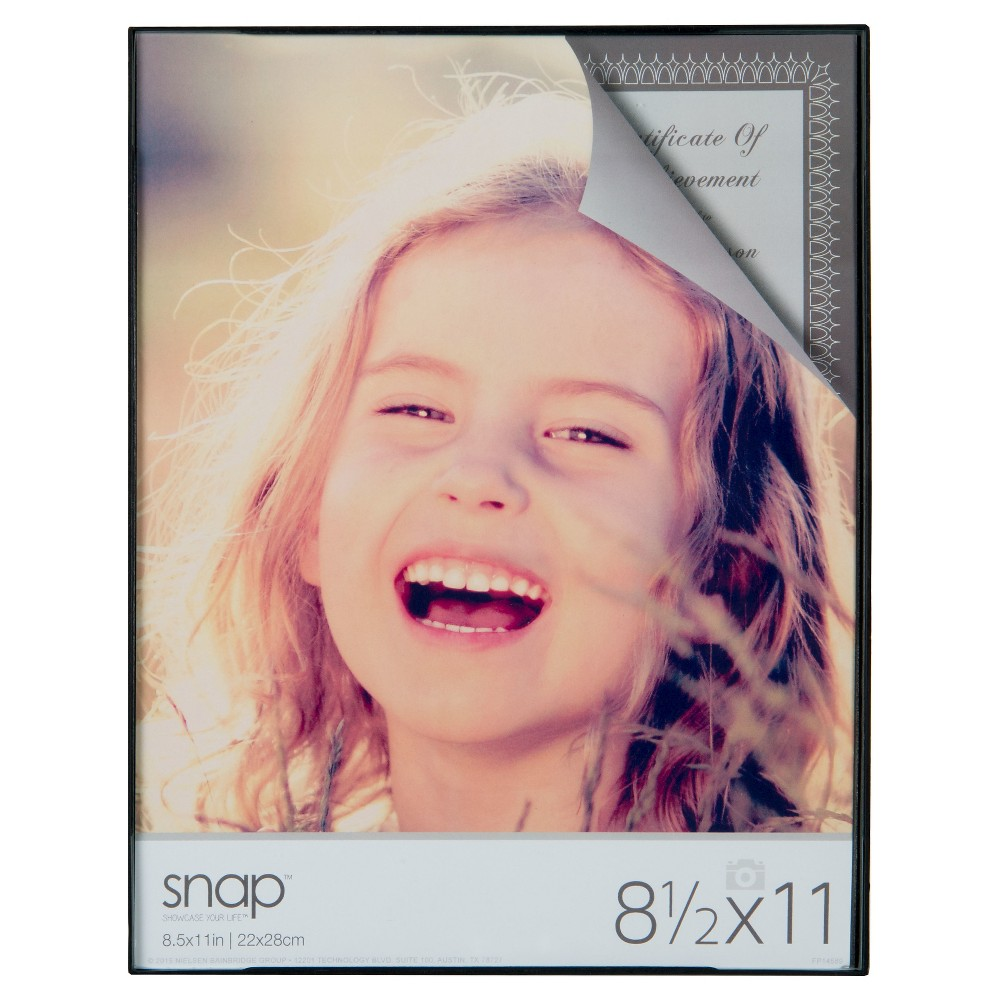 """Image of """"Black Front Loading Frame Set (8.5""""""""X11"""""""") Set of 12"""""""