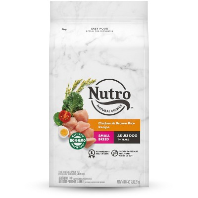 Nutro Wholesome Essentials Farm-Raised Chicken, Brown Rice & Sweet Potato Recipe Small Breed Adult Dry Dog Food - 5lbs